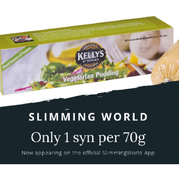 Kelly's Vegetarian High Protein White Pudding (boxed) 280g